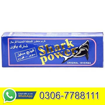 Shark power cream