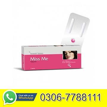 Miss Me Tablets in Pakistan