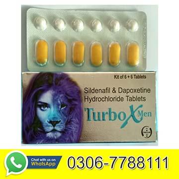 Turbo X Men Tablets in Pakistan