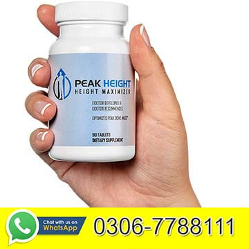 Peak Height Pills