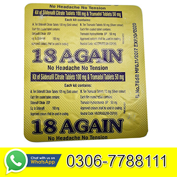 18 Again Pills Price in Pakistan