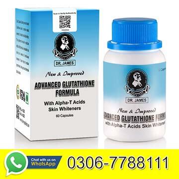 Dr James Glutathione capsules