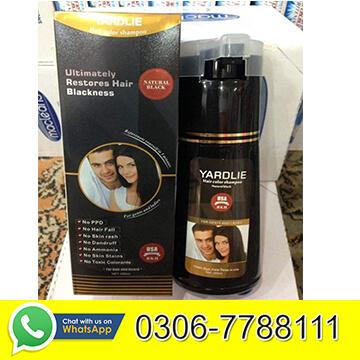Yardlie Black Hair Color Shampoo in Pakistan